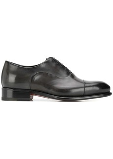 Santoni derby carter lace up shoes