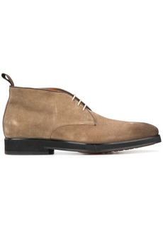 Santoni desert lace-up boots