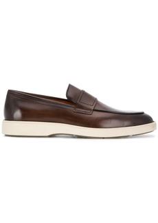 Santoni Detroit slip-on loafers