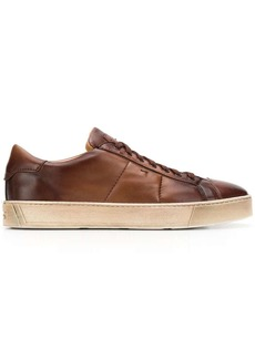 Santoni distressed sole sneakers
