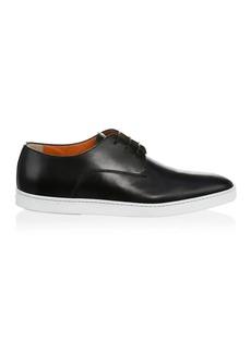 Santoni DOYLE Plain Toe Lace-up Sneaker