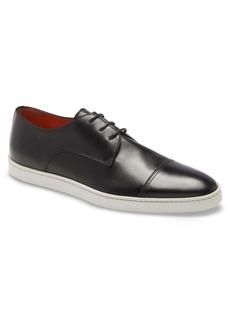 Men's Santoni Ray Cap Toe Derby Sneaker