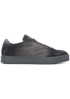 Santoni faded wash sneakers
