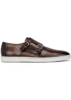 Santoni freemont monk strap shoes