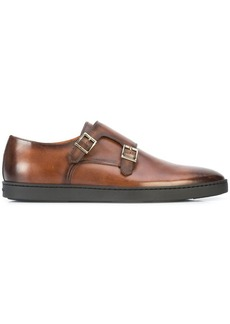 Santoni Fremont rubber sole shoes