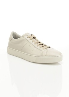Santoni Gloria Paneled Leather Sneakers