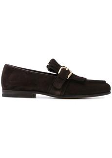 Santoni Hiro fringed loafers