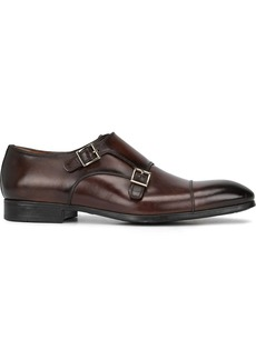 Santoni inca monk strap shoes