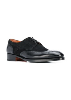 Santoni lace-up brogue shoes