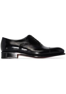 Santoni leather Oxford shoes