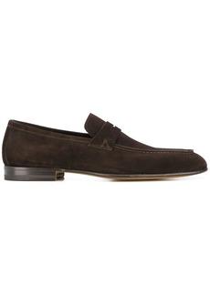 Santoni low heel loafers