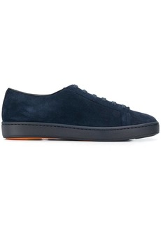 Santoni low-top suede sneakers
