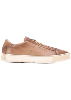 Santoni low top trainers