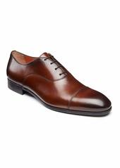 Santoni Men's Salem Leather Lace-Up Loafers  Brown