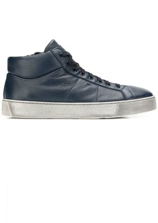 Santoni mid-top sneakers