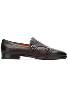 Santoni monk strap loafers