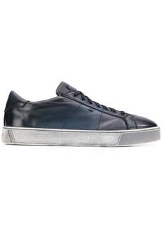 Santoni ombré-effect low-top sneakers