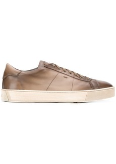 Santoni ombre effect lace-up sneakers
