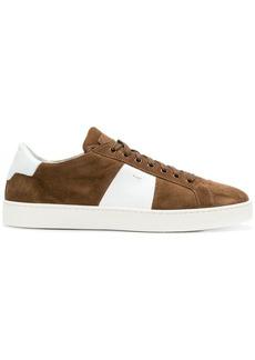 Santoni panelled sneakers