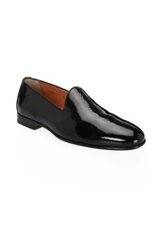 Santoni Patent Leather Dress Loafers