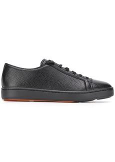 Santoni pebbled low sneakers