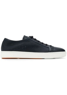 Santoni perforated detail sneakers