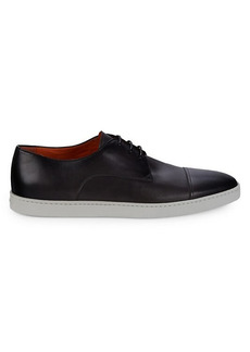 Santoni Ray Leather Derby Shoes