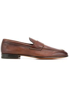 Santoni classic loafers - Brown
