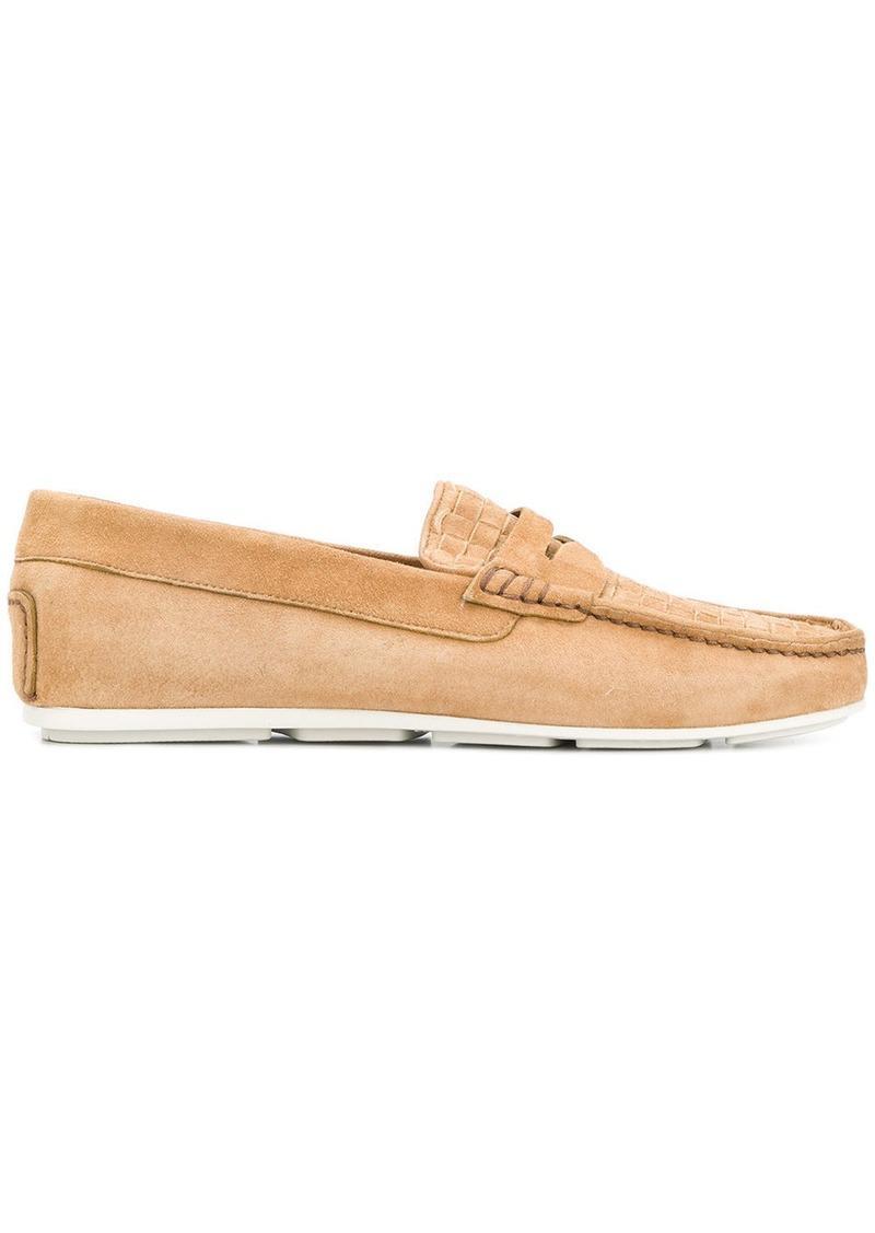 classic loafers - Nude & Neutrals Santoni qQgDw