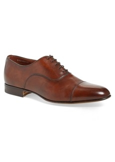 Santoni Darian Cap Toe Oxford (Men)