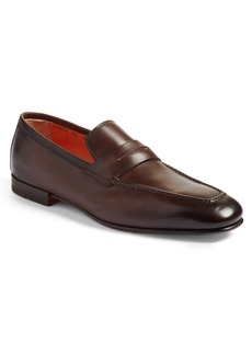 Santoni Fox Packable Penny Loafer (Men)