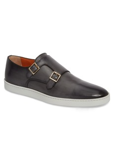 Santoni Fremont Double Monk Strap Shoe (Men)