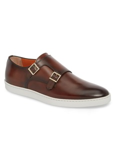 Santoni Freemont Double Monk Strap Shoe (Men)