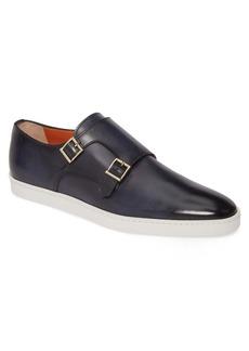 Santoni Freemont Double Monk Strap Shoe (Men)