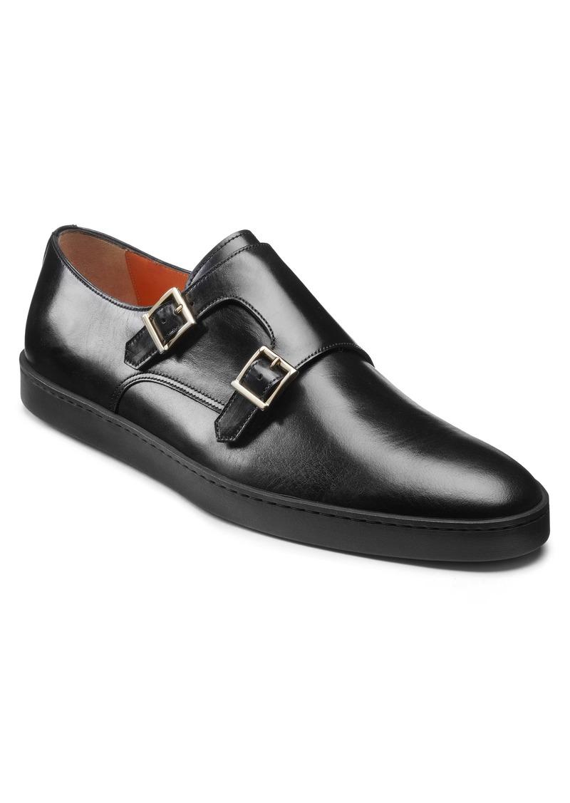 Santoni Fremont Double Monk Strap Shoe (Men)