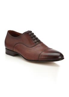 Santoni DARIAN Lace-Up Cap Toe Shoe