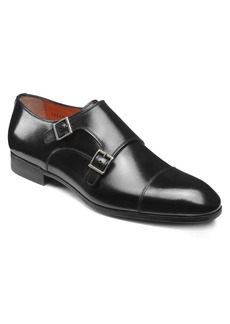 Santoni Inca Double Monk Strap Shoe (Men)