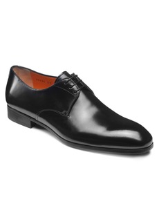 Santoni Induct Plain Toe Derby (Men)