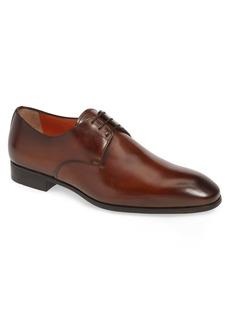 Santoni Induct Plain Toe Derby (Men)