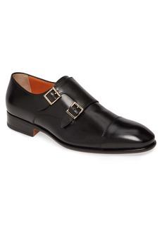 Santoni Innocent Double Monk Strap Shoe (Men)