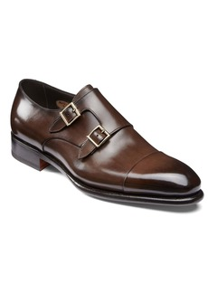 Santoni IRA Double Monk Strap Shoe (Men)