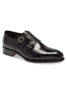 Santoni IRA Double Monk Strap Shoe (Men)