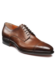 Santoni Ironside Cap Toe Derby (Men)