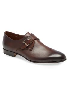 Santoni Island Monk Strap Shoe (Men)