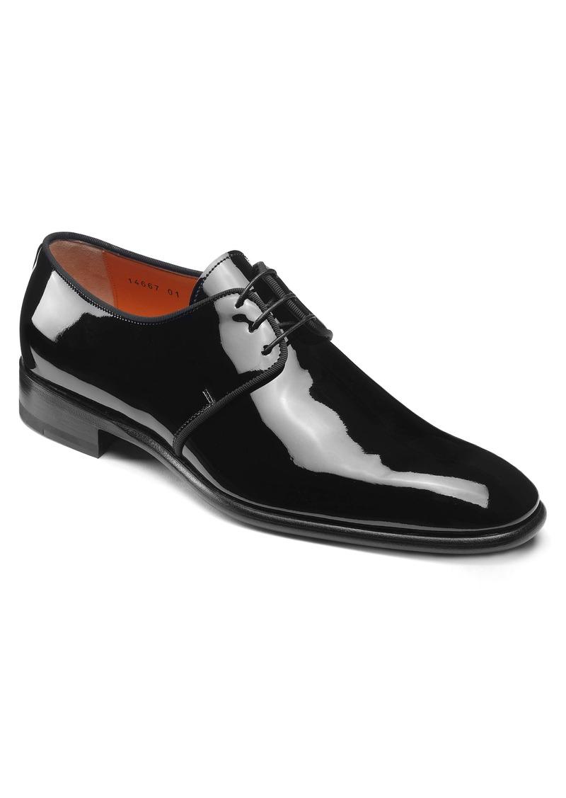 Santoni Isogram Plain Toe Derby (Men)