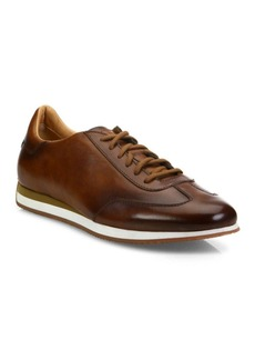 Santoni SIERRA Low-Top Leather Sneakers