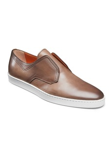Santoni Men's Icarius Leather Low-Top Sneakers