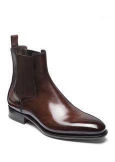 Santoni Men's Lock Leather Chelsea Boots