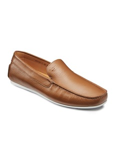 Santoni Men's Wellington Drivers  Light Brown