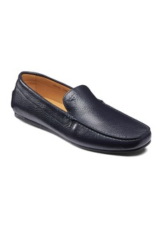 Santoni Men's Wellington Drivers  Navy
